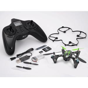 GFORCE(ジーフォース) 2.4GHz 4ch クワッドコプター X4 HD (ブラックグリーン) #H107C-2 【取寄せ】|kite