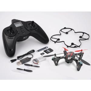 GFORCE(ジーフォース) 2.4GHz 4ch クワッドコプター X4 HD (ブラックレッド) #H107C-3 【取寄せ】|kite