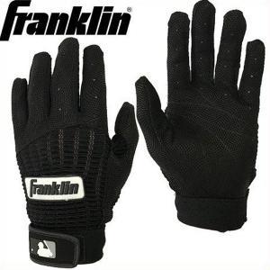 (送料無料)(即日発送)フランクリン バッティング用手袋 プロ クラシック ブラック×ブラック 両手売り 20973|kitospo