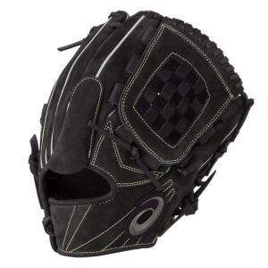 (即日発送)アシックス 軟式野球用グラブ ブラックス 投手用 ヌバック調 グローブ 3121A433|kitospo