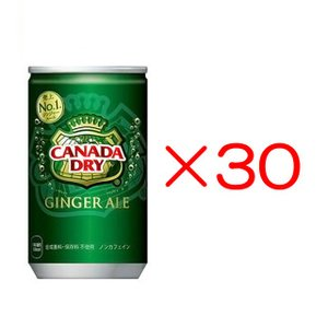 カナダドライジンジャーエール 160ml缶 30本 メーカー直送 代引き不可|kitospo