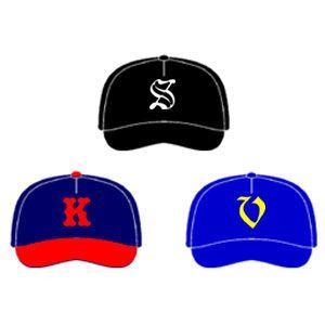 野球用帽子・追加マーキング 1重圧着 MK-B1|kitospo