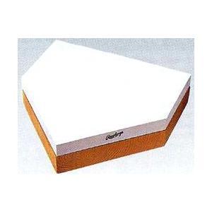 アシックス-asics- 木台付ホームベース(規格品) BEE-1H|kitospo
