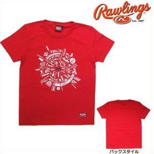 (即日発送)ローリングス Rawlings アメリカンTシャツ(ブランド)AST5F09|kitospo
