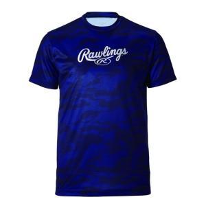 (即日発送)ローリングス Tシャツ コンバットツートンTシャツ ネイビー AST9F04|kitospo