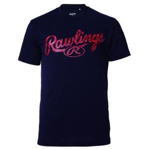 (即日発送)ローリングス Tシャツ コンバットロゴTシャツ ネイビー AST9F07|kitospo