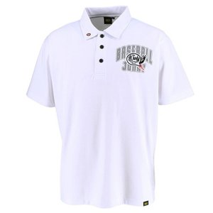 (即日発送)ゼット ベースボールジャンキー ポロシャツ ホワイト BOT497JP|kitospo