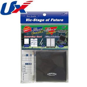 (即日発送)ユニックス 審判員用必需品3点セット ファイリングホルダー&レコーディングカード 野球 審判用具 BX83-93|kitospo