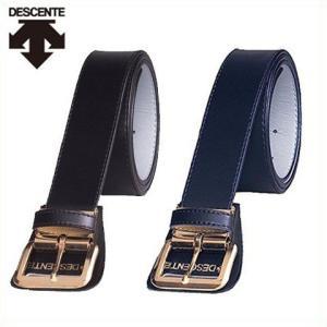 デサント DESCENTE 野球用ベルト ゴールドバックル レギュラーサイズ C-994|kitospo
