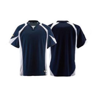 野球 ユニフォーム ベースボールシャツ デサント DB-113 レギュラーシルエット kitospo 02