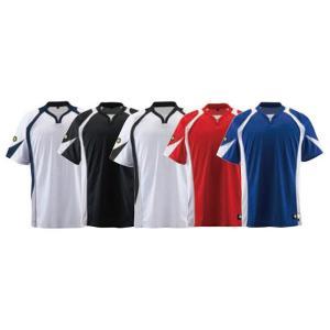 野球 ユニフォーム ベースボールシャツ デサント DB-113 レギュラーシルエット kitospo 03