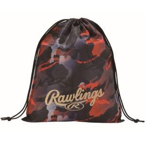 (即日発送)ローリングス マルチバッグ オレンジ ESC10S02 グラブ袋 シューズ袋|kitospo