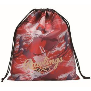 (即日発送)ローリングス マルチバッグ レッド ESC10S02 グラブ袋 シューズ袋|kitospo