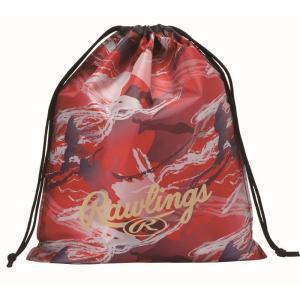 (即日発送)ローリングス マルチバッグ レッド ESC10S02 グラブ袋 シューズ袋|kitospo|02