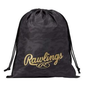 (即日発送)ローリングス マルチバッグ ブラック ESC9F02 グラブ袋 シューズ袋|kitospo