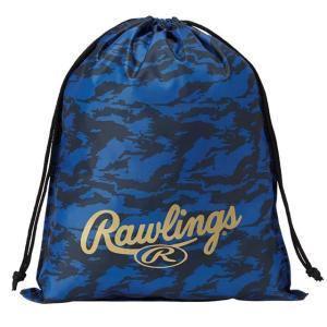 (即日発送)ローリングス マルチバッグ ネイビー ESC9F02 グラブ袋 シューズ袋|kitospo