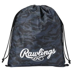 (即日発送)ローリングス マルチバッグ カモ ブラック ESC9S03 グラブ袋 シューズ袋 kitospo 02