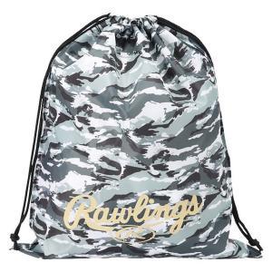 (送料無料)(即日発送)ローリングス マルチバッグ カモ グリーン ESC9S03 グラブ袋 シューズ袋|kitospo