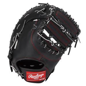 (即日発送)ローリングス 軟式野球用ファーストミット ハイパーテック R2G ブラック GR9FHT3ACD|kitospo