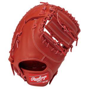 (即日発送)ローリングス 軟式野球用ファーストミット ハイパーテック R2G レッド GR9FHT3ACD|kitospo