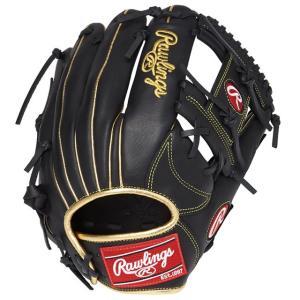 (即日発送)ローリングス 軟式野球用グラブ ハイパーテック R2G GOLD 内野手用 ブラック GR9FHTCN62 グローブ|kitospo