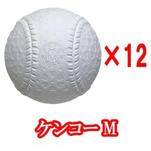 【即日発送】野球 軟式ボール JSBB公認球 試合球 ナガセケンコー M号 ダース売り|kitospo