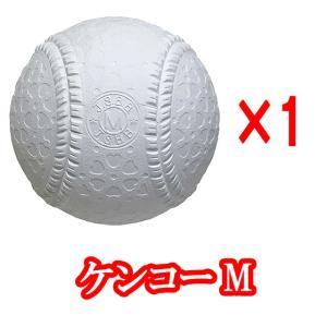 【即日発送】野球 軟式ボール JSBB公認球 試合球 ナガセケンコー M号 バラ売り|kitospo
