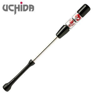 (即日発送)ウチダ トリプルスリー 軽量タイプ 930g 80cm シルバー 野球練習用具 TR380G|kitospo