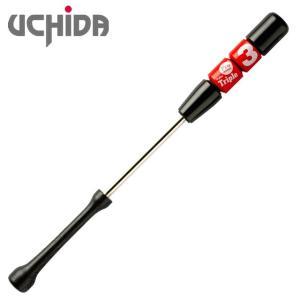 (即日発送)ウチダ トリプルスリー 軽量タイプ 930g 80cm レッド 野球練習用具 TR380R|kitospo