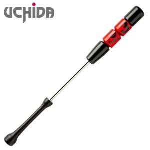(即日発送)ウチダ トリプルスリー 重量タイプ 1050g 85cm レッド 野球練習用具 TR385R|kitospo