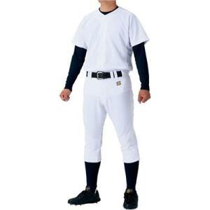 (即日発送)ゼット メカパンユニフォームセット ニットシャツ+レギュラーパンツ BU1180G|kitospo|02
