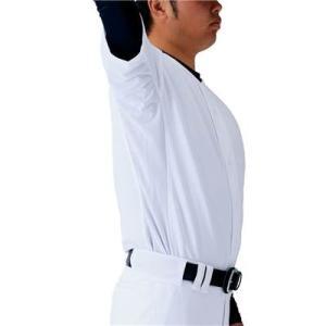 (即日発送)ゼット メカパンユニフォームセット ニットシャツ+レギュラーパンツ BU1180G|kitospo|05
