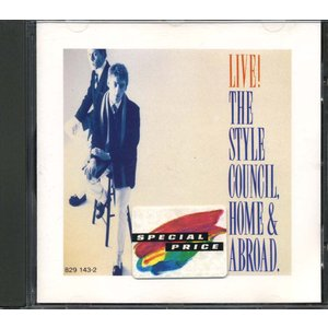 The STYLE COUNCIL - Home & Abroad - Live!