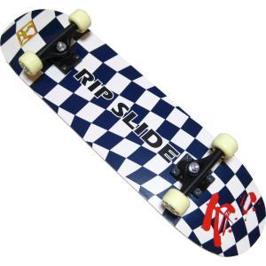 31インチ スケートボードST 20096 (ネイビー×ホワイト) RIP SLIDE