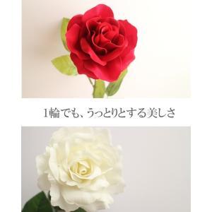 【薔薇 造花】【造花 薔薇】【最高級ベルベット...の詳細画像2
