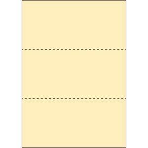 A4 ミシン目用紙 3分割タイプ 上質(白色)【厚み:コピー用紙(35kg)】2000枚|kiuchi-printing