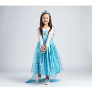 アナと雪の女王 エレサ風ドレス マント付きダイヤモンドドレス コスプレ衣装 クリスマスプレゼント kiumibaby 02