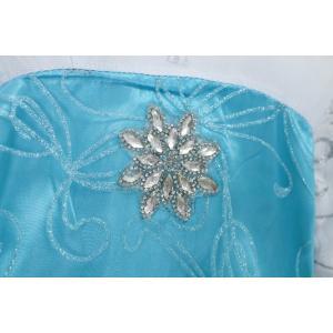 アナと雪の女王 エレサ風ドレス マント付きダイヤモンドドレス コスプレ衣装 クリスマスプレゼント kiumibaby 04