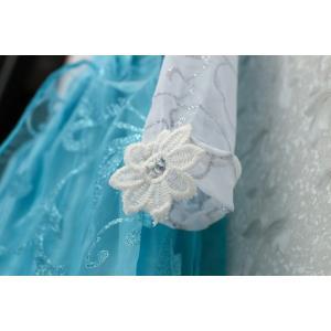 アナと雪の女王 エレサ風ドレス マント付きダイヤモンドドレス コスプレ衣装 クリスマスプレゼント kiumibaby 06
