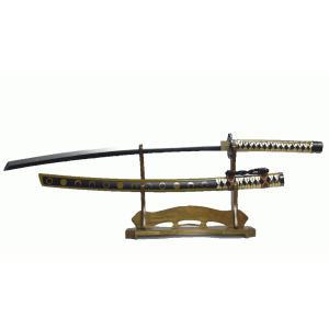 日本刀 模造刀 美品 木製 コスプレ インテリア飾り 太刀 刀 三日月宗近 104cm 趣味 おもちゃ
