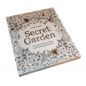 Secret Garden ぬりえ カード 秘密のはなぞの ひみつの花園 塗り絵 英語 30枚 30 Postcards 142mm×172mm