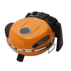 さくさく石窯ピザメーカー キッチン家電 〔オレンジ〕 3段階温度調節可 15分タイマー付き FPM-160or|kiwami-honpo