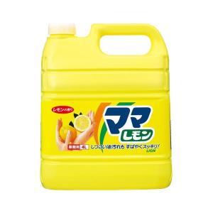 ライオン ママレモン 業務用 4L 1本 〔×10セット〕|kiwami-honpo