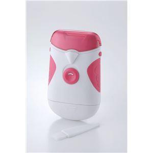 電動 爪切り/ネイルカッター 〔LEDライト付き〕 お掃除ブラシ付き 電池式 ヘッド部分水洗い可能 皮膚に触れても安全 SAVE|kiwami-honpo