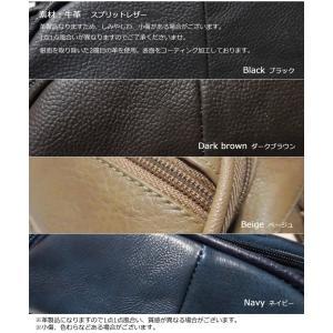 コンパクトなウエストポーチ 本革メンズバッグ ...の詳細画像2