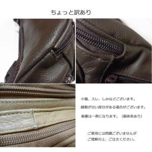 コンパクトなウエストポーチ 本革メンズバッグ ...の詳細画像5