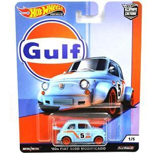 「Hot Wheels カーカルチャー Gulf Racing」に、1/64 60's FIAT 5...