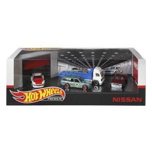 ホットウィール プレミアム コレクターセット アソート - Nissan Garage GMH40