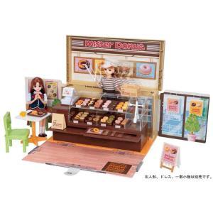 ミスタードーナツショップに、リアルなドーナツ小物が36個も入って登場!  ドーナッツをショーケースに...