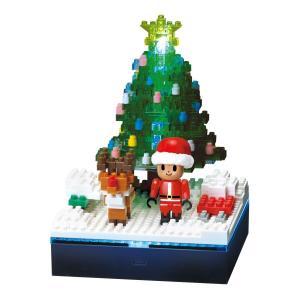 ナノブロック ストーリーズコレクション 光ファイバーLED+クリスマスツリー NBH_168